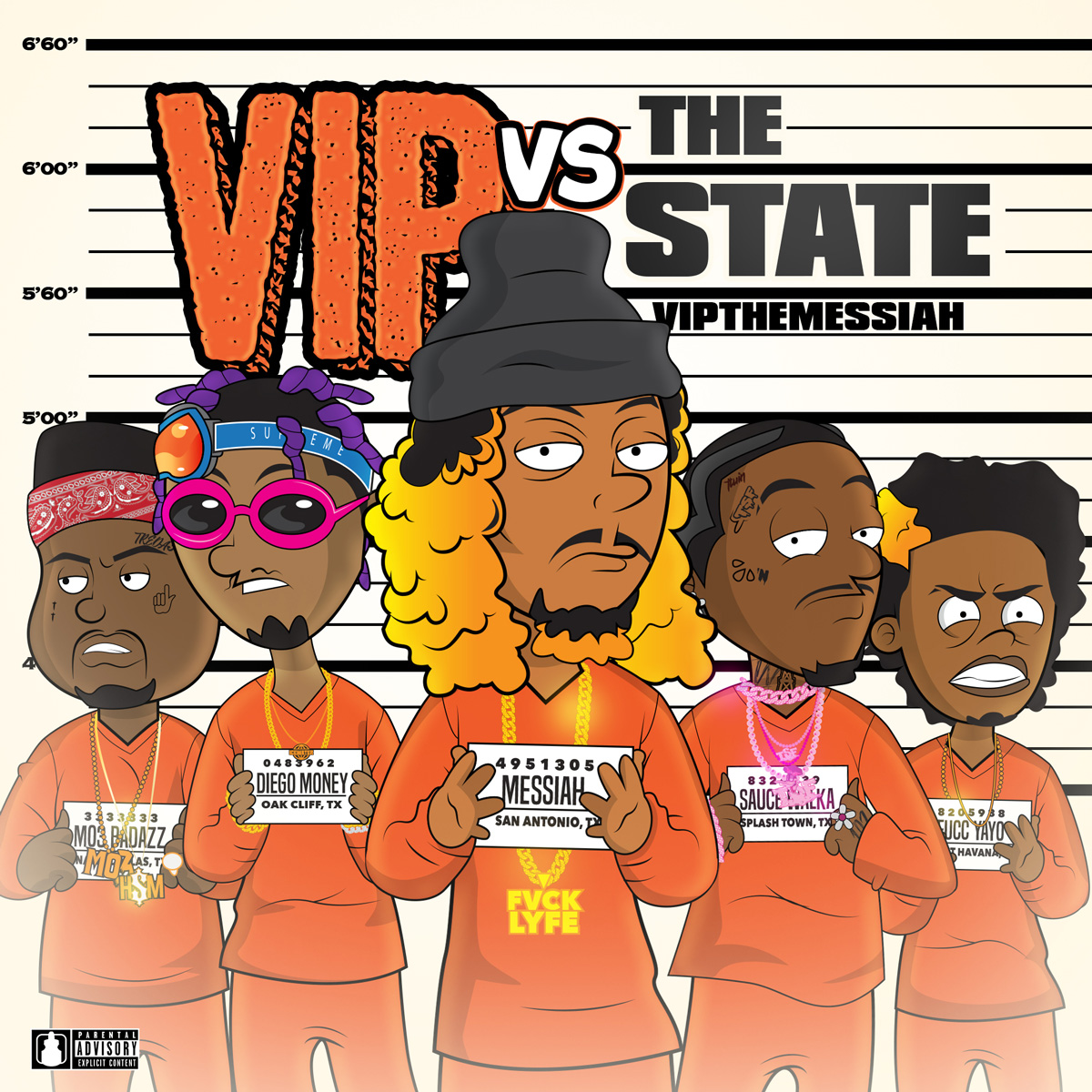 VIP The Messiah - VIP vs The State